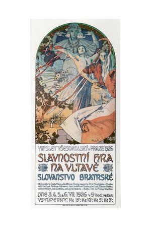 8th Sokol Festival in Prague, 1925