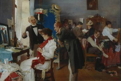In the Dressing Room, End of 19th C