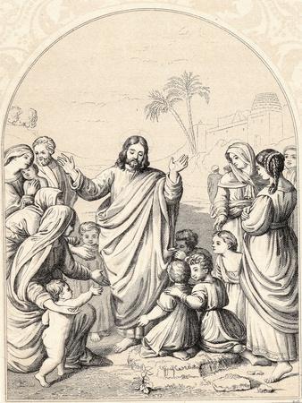 Christ Blessing the Little Children, C1880