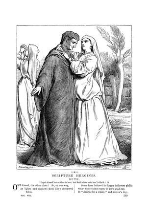 Ruth Embracing Her Mother-In-Law, 1873