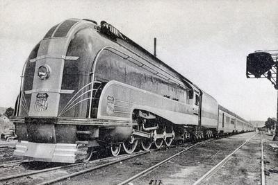 Passenger Train, Pullman of the Pacific Union, America, 20th Century