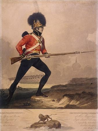 Soldier of the Third Regiment of the Loyal London Volunteers, 1800