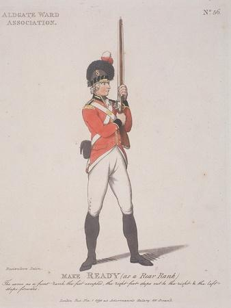 Member of the Aldgate Ward Association Holding a Rifle, 1798