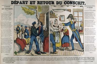 The Departure and Return of the Conscript, 19th Century