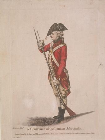 Member of the London Association Volunteers, 1780