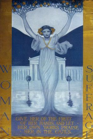 Woman Suffrage, C. 1905