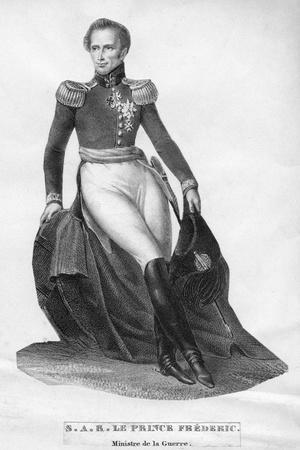Prince Frederic, Minister of War, C19th Century