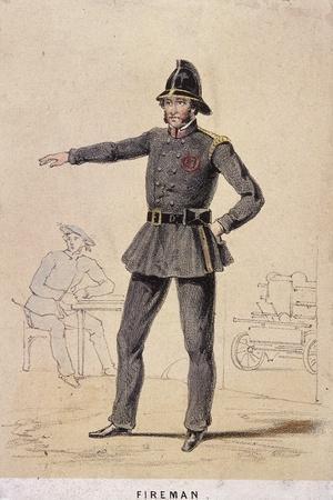 A Fireman, 1855