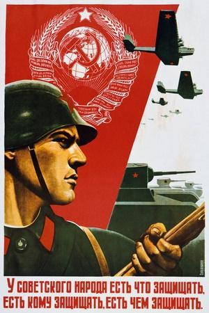 The Soviet People Know How to Defend, 1937
