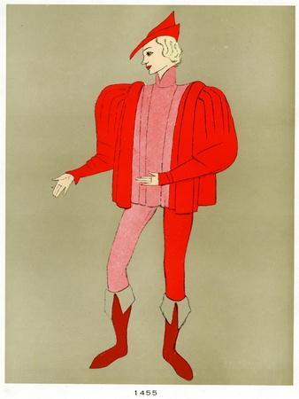 Costume of 1455, Early to Mid 20th Century