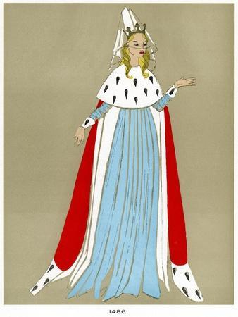 Costume of 1486, Early to Mid 20th Century