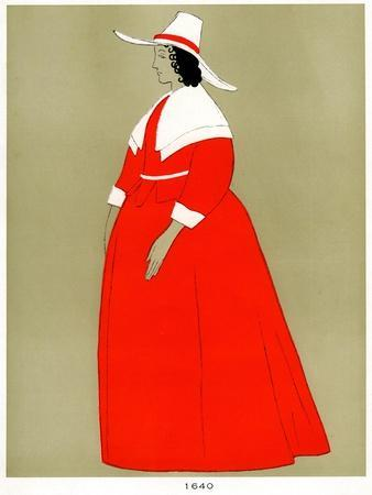 Costume of 1640, Early to Mid 20th Century