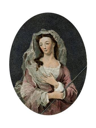Mrs Woffington, 1795