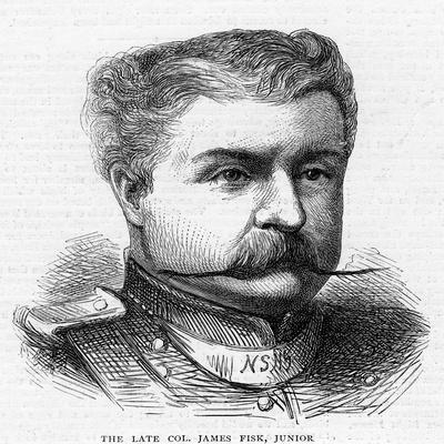 Colonel James Fisk, Junior, C19th Century