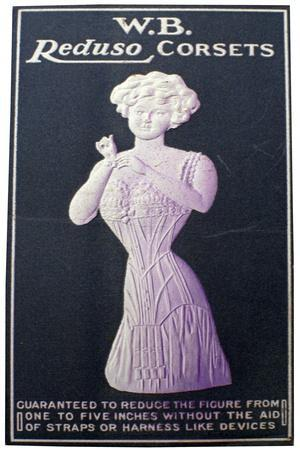 Advert for Wb Reduso Corsets, 1900s