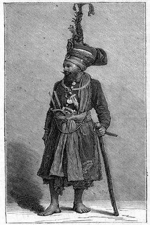 Sikh Chief, 1886