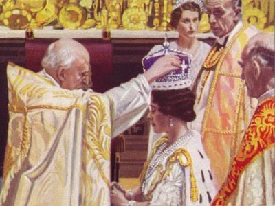 The Coronation of Queen Elizabeth (1900-200), 1937