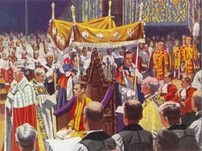 The Coronation of King George VI (1895-195), 12 May 1937