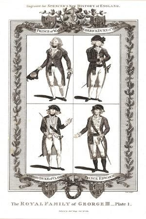 The Royal Family of George III, Januay 18th 1794