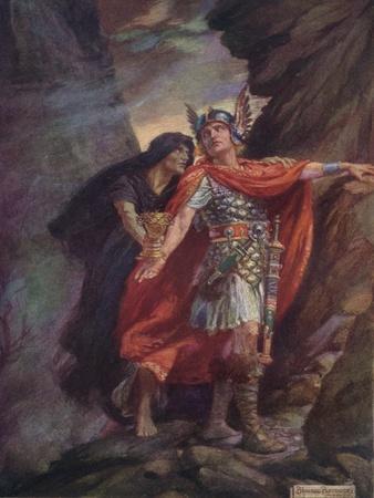 An Illustration of Robert Browning's (1812-188) Poem Rabbi Ben Ezra, 1916