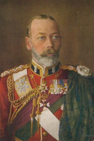 King George V (1865-193) as Colonel-In-Chief of the Black Watch