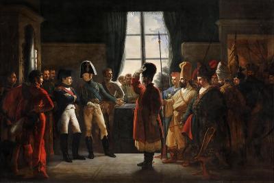 Tsar Alexander I Presenting the Kalmyks, Cossacks and Bashkirs of Russian Army to Napoleon I