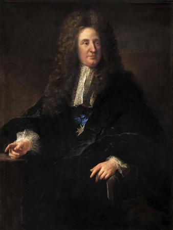 Portrait of Jules Hardouin-Mansart (1646-170)