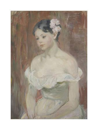 Girl with Decollete (The Flower in Hai)