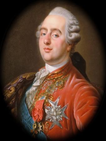 Portrait of the King Louis XVI (1754-179)