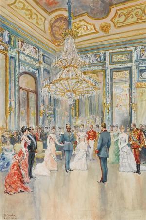 The Wedding of Prince Ludwig Ferdinand of Bavaria to Infanta Maria De La Paz of Spain
