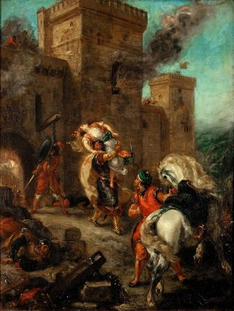 Rebecca Raped by a Knight Templar During the Sack of the Castle Frondeboeuf