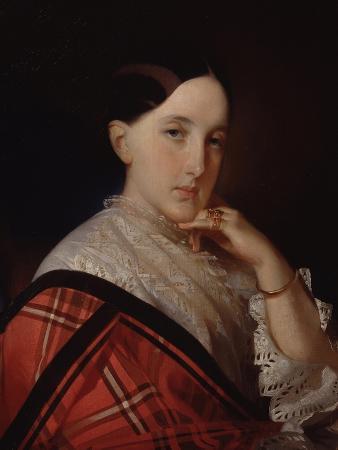 Portrait of Grand Duchess Maria Alexandrovna (1824-188), Future Empress of Russia
