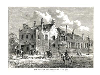 Bagnigge Wells, 1780