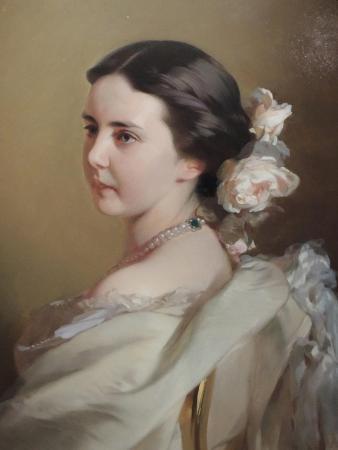 Portrait of Ekaterina Fyodorovna Tyutcheva (1835-188), Mid 1850s