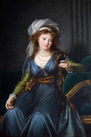 Portrait of Countess Yekaterina Skavronskaya, Née Von Engelhardt (1761-1829