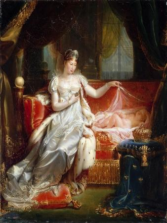 Empress Marie-Louise with the Sleeping King of Rome