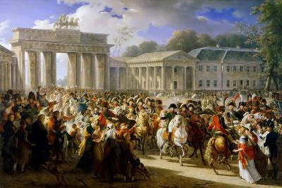 Entry of Napoleon into Berlin, October 1806