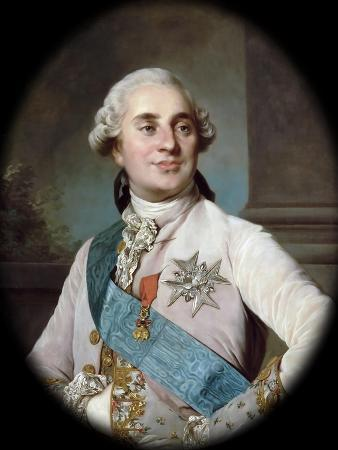 Portrait of the King Louis XVI (1754-179)