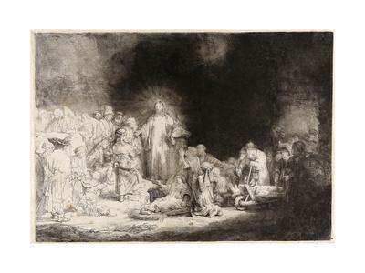 Christ Healing the Sick (The Hundred Guilder Prin)