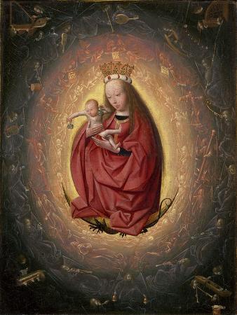 The Glorification of the Virgin, 1490-1495