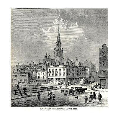 Ray Street, 1820