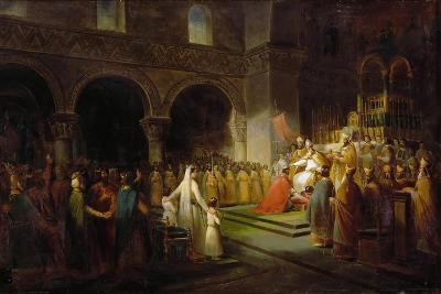 The Anointing of Pepin the Short at Saint-Denis, 28 July 754