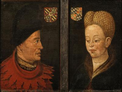Portraits of Of John the Fearless and Margaret of Bavaria, 16th Century