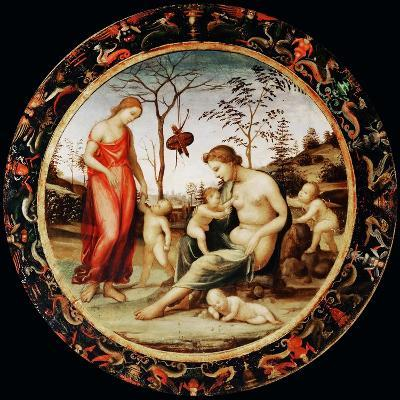 Allegory of Love (Venus Terrestre with Eros and Venus Celeste with Anteros and Two Cupid)