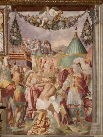 The Punishment of the Treacherous Schoolmaster of Falerii, C. 1544