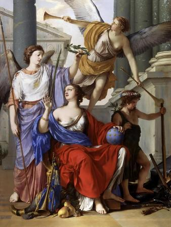 Allegory of the Regency of Anne of Austria