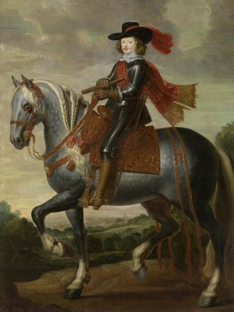 Equestrian Portrait of Cardinal-Infante Ferdinand of Austria, First Third of 17th C