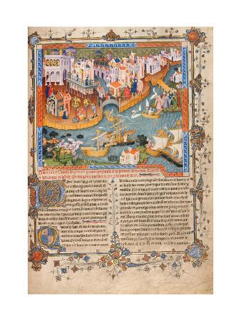 Marco Polo?S Departure from Venice in 1271 (From Marco Polo?S Travel), Ca 1400