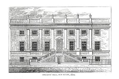 Surgeons Hall, Old Bailey,1800