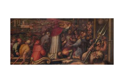 Pope Eugene IV Disembarks at Leghorn to Take Refuge in Florence, 1563-1565